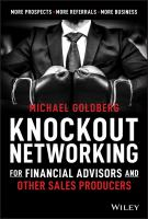 Knock Out Networking for Financial Advisors and Other Sales Producers