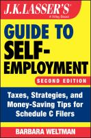 J.K. Lasser's Guide to Self-employment