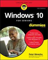 Image: Windows 10 For Seniors For Dummies