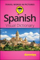 Spanish Visual Dictionary for Dummies