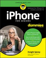 Image: IPhone® for Seniors