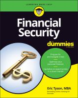 Financial Security For Dummies