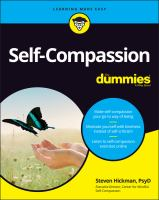 Self-Compassion For Dummies