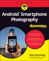 Android Smartphone Photography For Dummies