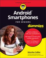 Android Smartphone For Seniors For Dummies