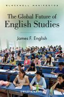 The Global Future of English Studies