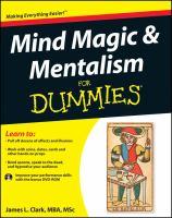 Mind Magic & Mentalism for Dummies
