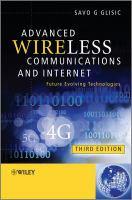 Advanced Wireless Communications & Internet
