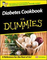 Diabetes Cookbook for Dummies