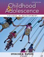 Childhood & Adolescence