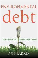 Environmental Debt