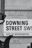 A History of British Prime Ministers