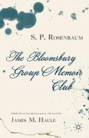 The Bloomsbury Group Memoir Club