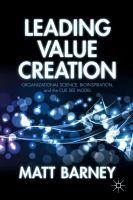Leading Value Creation
