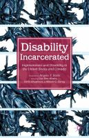 Disability Incarcerated