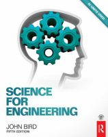 Science For Engineering, 5th Ed (Revised)