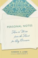 Personal Notes