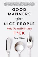 Good Manners for Nice People