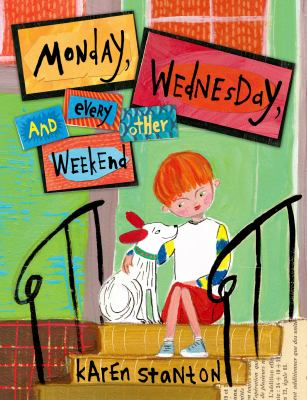 """Book Cover - Monday, Wednesday, and every other weekend """" title=""""View this item in the library catalogue"""
