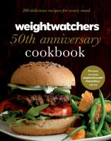 Weightwatchers 50th Anniversary Cookbook