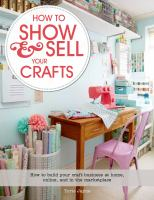 How to Show & Sell your Crafts