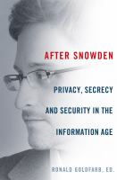 After Snowden