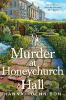 Murder at Honeychurch Hall