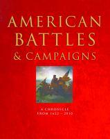 American Battles & Campaigns
