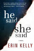 Cover of He Said/She Said