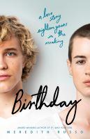 Birthday : a novel
