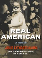 Cover of  Real American