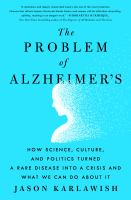 Cover of The Problem of Alzheimer's