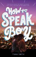 How to Speak Boy