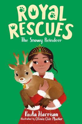 The snowy reindeer