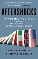 AFTERSHOCKS--ON ORDER FOR HERRICK!