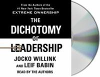 The Dichotomy of Leadership (CD)