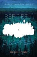 Media Cover for Before I Disappear