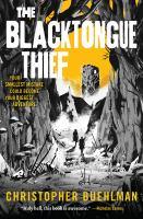 Cover of Blacktongue Thief