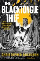 BLACKTONGUE THIEF