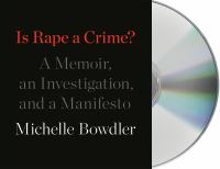 Is Rape A Crime? (CD)