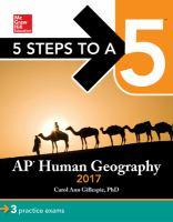 AP Human Geography 2017