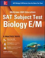 McGraw-Hill Education SAT Subject Test, Biology E/M