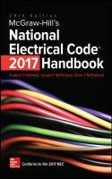 McGraw-Hill's National Electrical Code 2017 Handbook