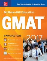 McGraw-Hill Education GMAT 2017