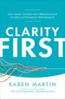 Clarity First