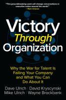 Victory Through Organization