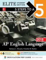 AP English Language 2018
