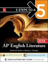 AP English Literature 2018