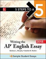 Writing the AP English Essay 2018
