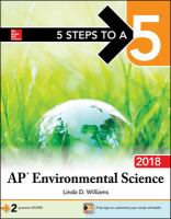 AP Environmental Science 2018